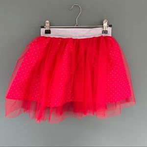 Disney Minnie Mouse Red Tulle Net Tutu Skirt